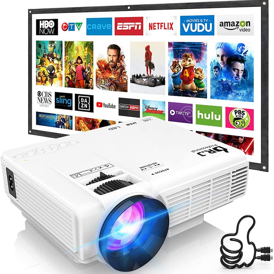 Mini Projector Outdoor Movie Projector