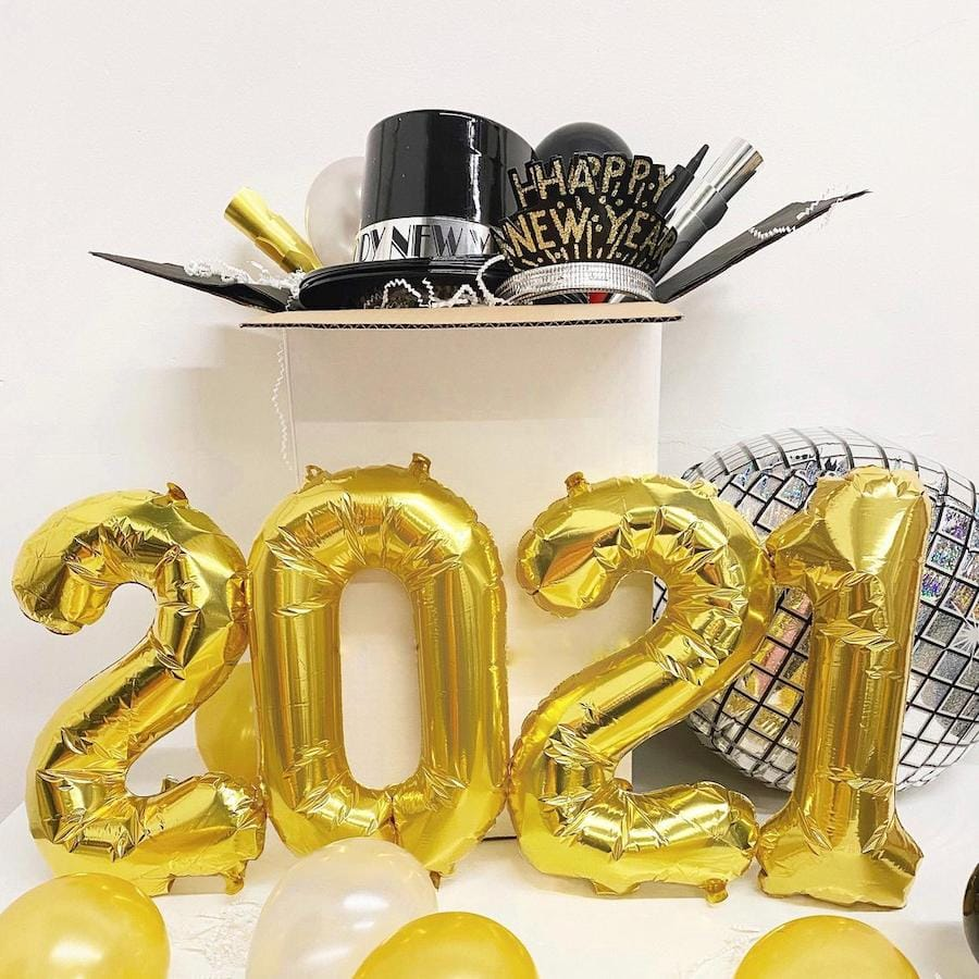 New Year Eve Decorations Kit