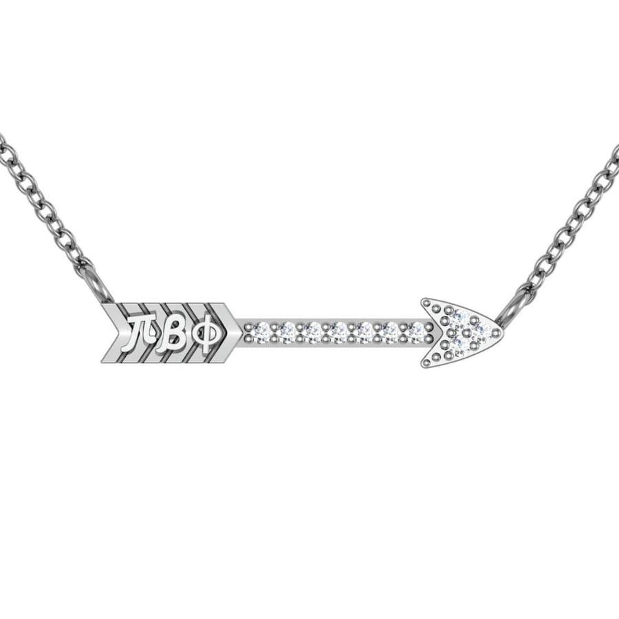 Pi Beta Phi Arrow Necklace