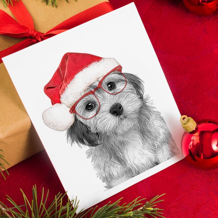 Printable Pet Christmas Decor