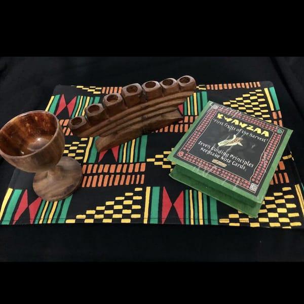 Reversible Kwanzaa Mat