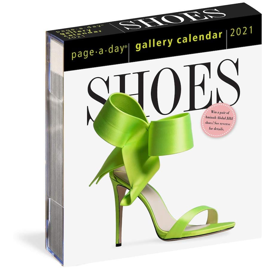 Shoes Page-A-Day Gallery Calendars 2021