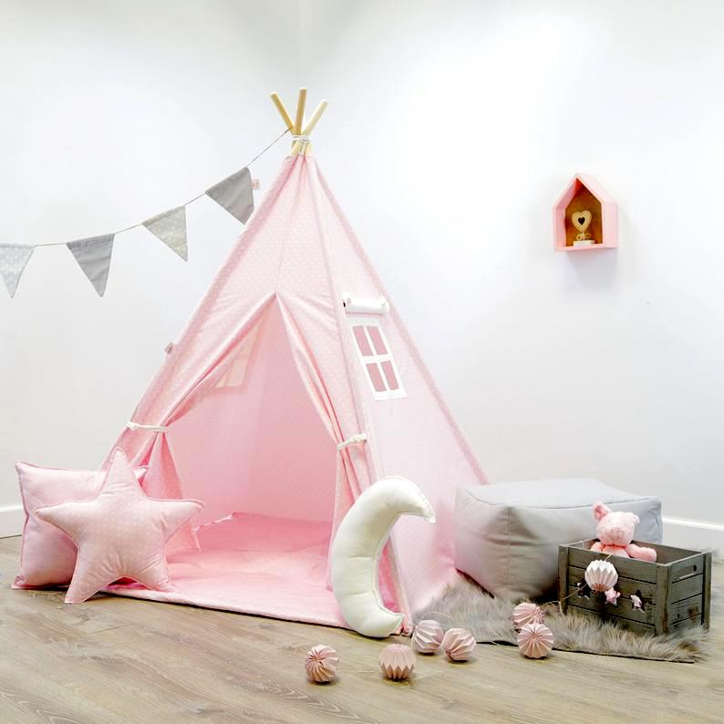 Childrens Pink Teepee