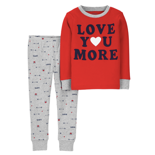 Family Valentine's 100% Cotton PJs