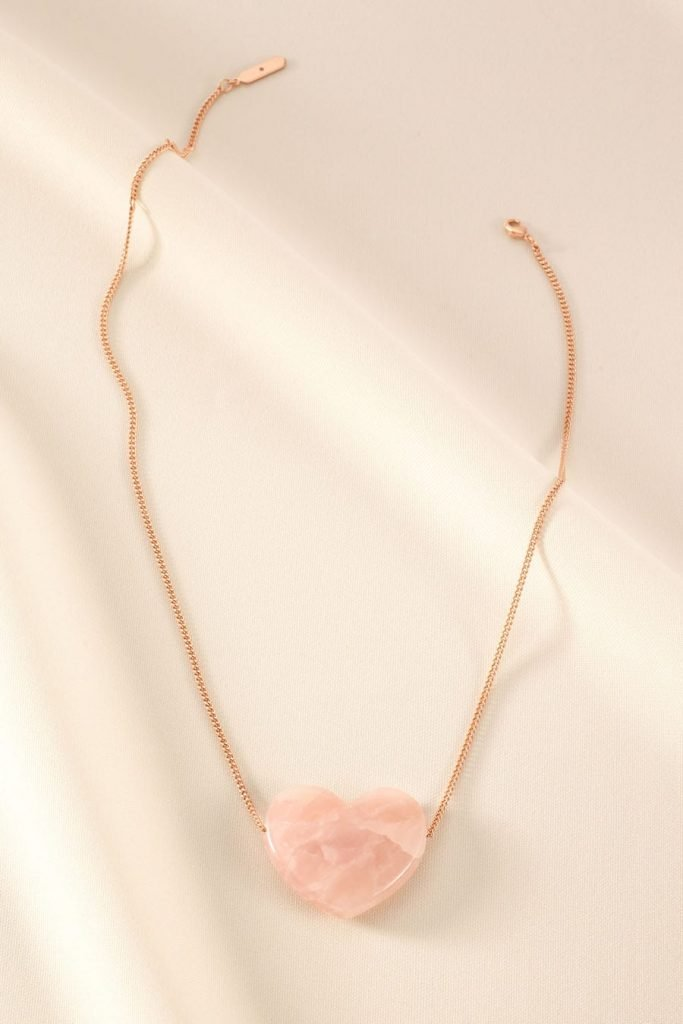 Party Pretty in Pink in Heartbreaker Pendant