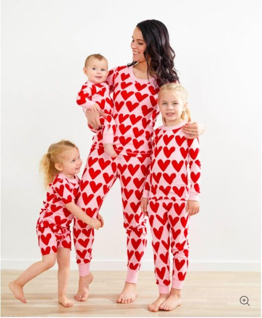 Hearts On Heart Family Pajamas