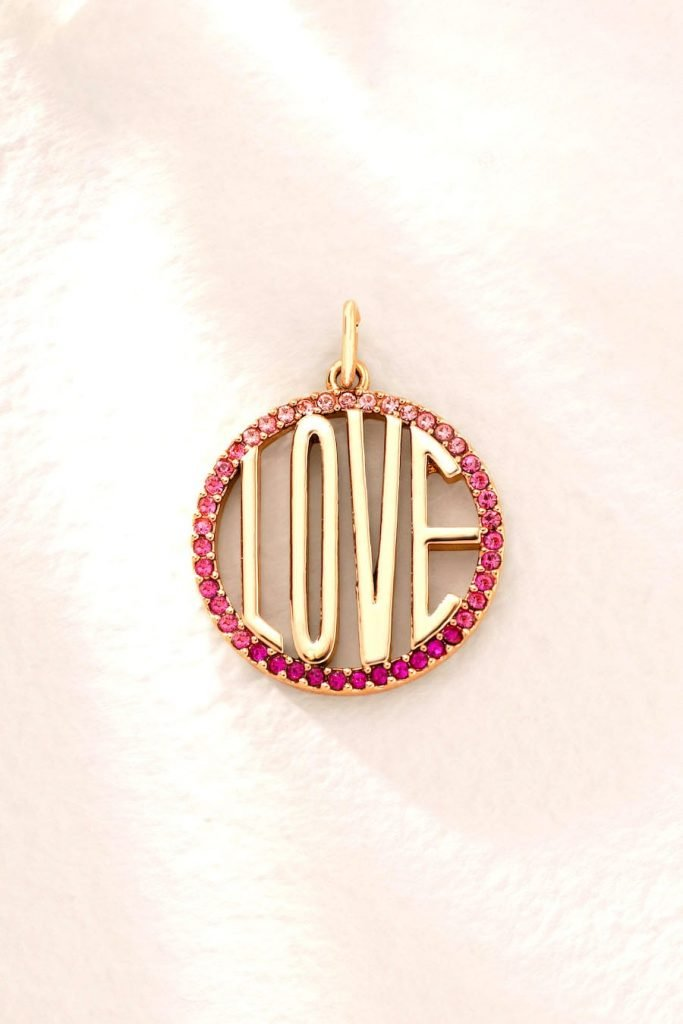 KEEP-It Love Disc - Rose Gold
