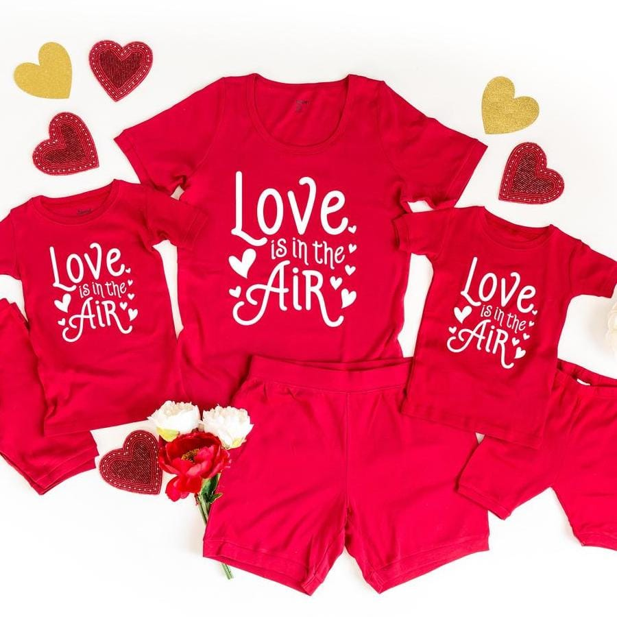 Love is in the Air Short Pajamas