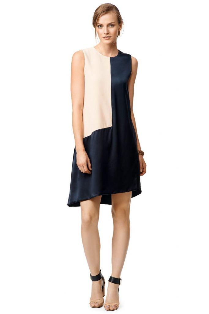 Narciso Rodriguez Geo Shift Dress