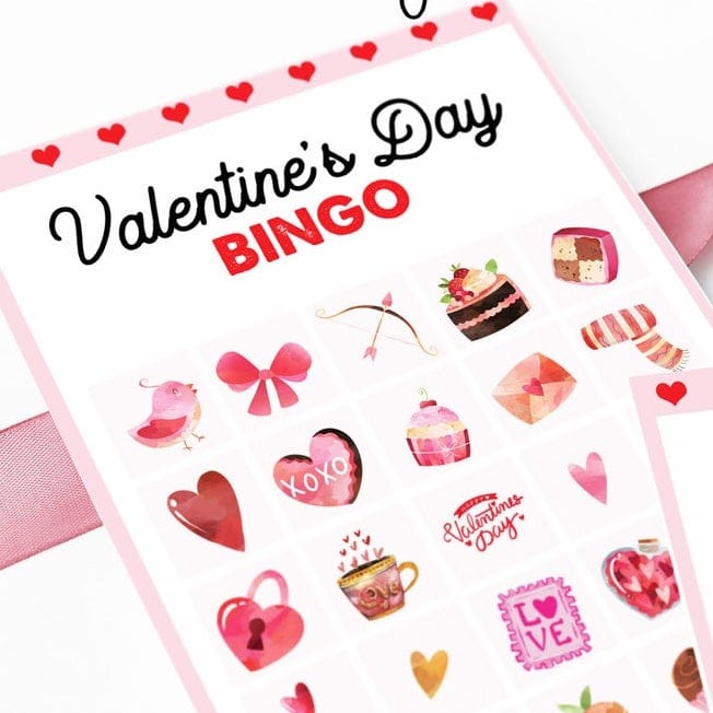 Printable Valentines Day Bingo