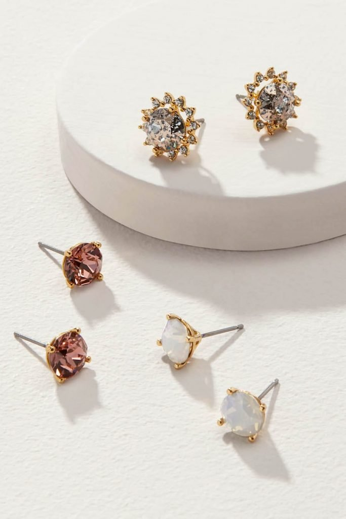 Party Pretty in Pink in Halo Sparkle Studs