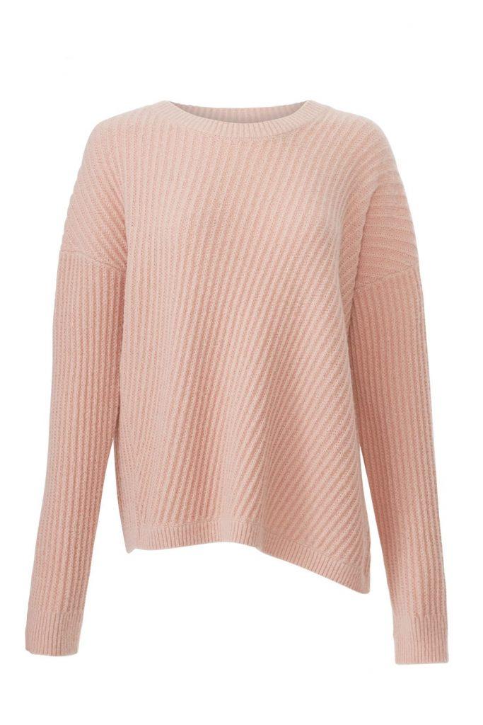 VINCE. Side Slit Crew Sweater