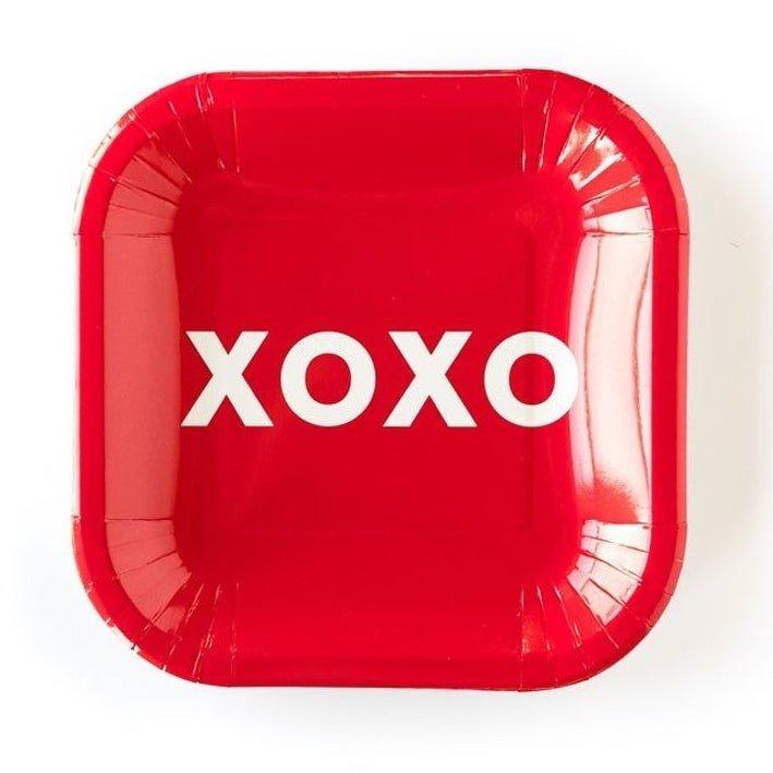 Valentine XOXO Plate