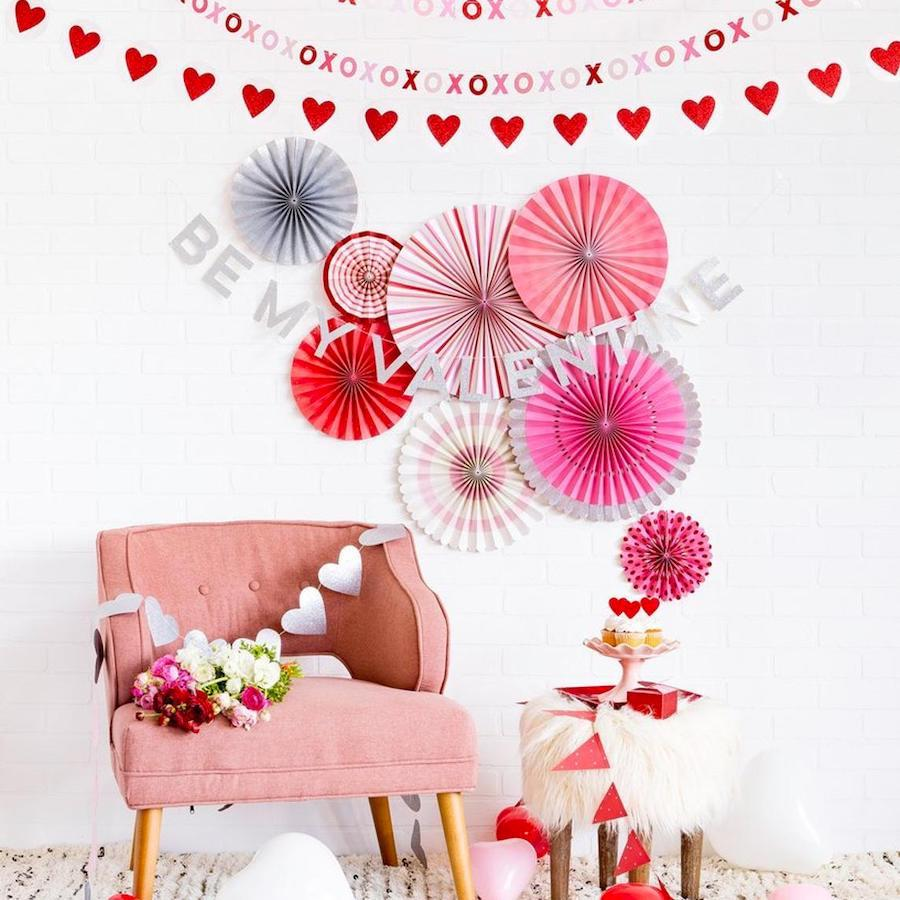 Mother Daughter Valentine Sleepover Party Decor
