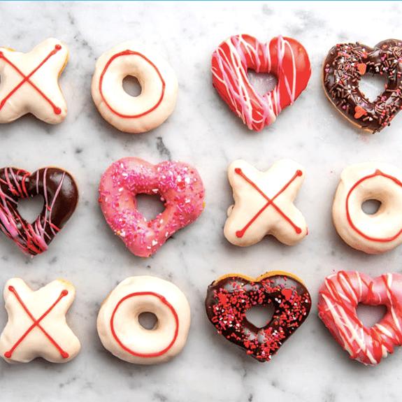 XOXO Valentine's Donuts