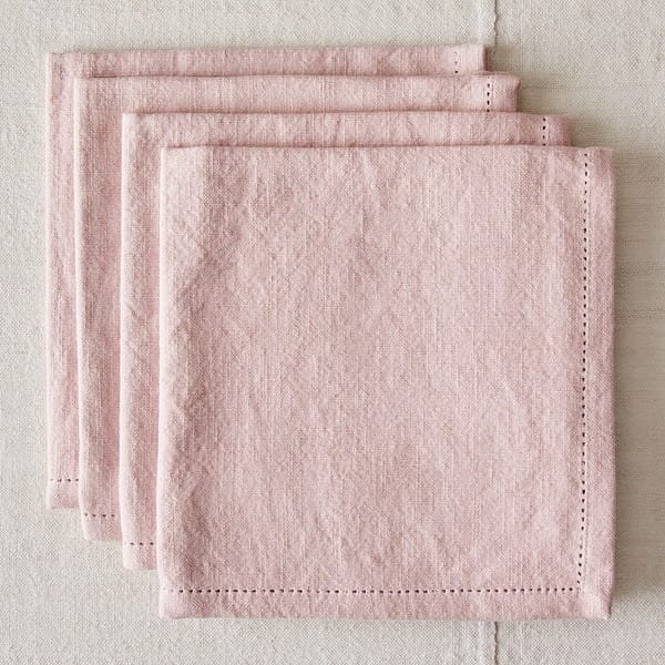 Pink Cotton Napkins