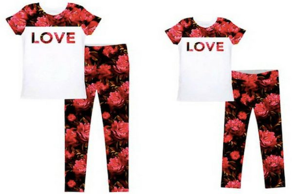 "Red Roses ""True Passion"" Mom and Me Outfits"