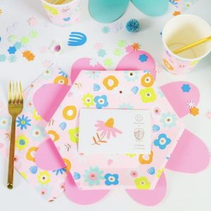 Flora Plates for Easter