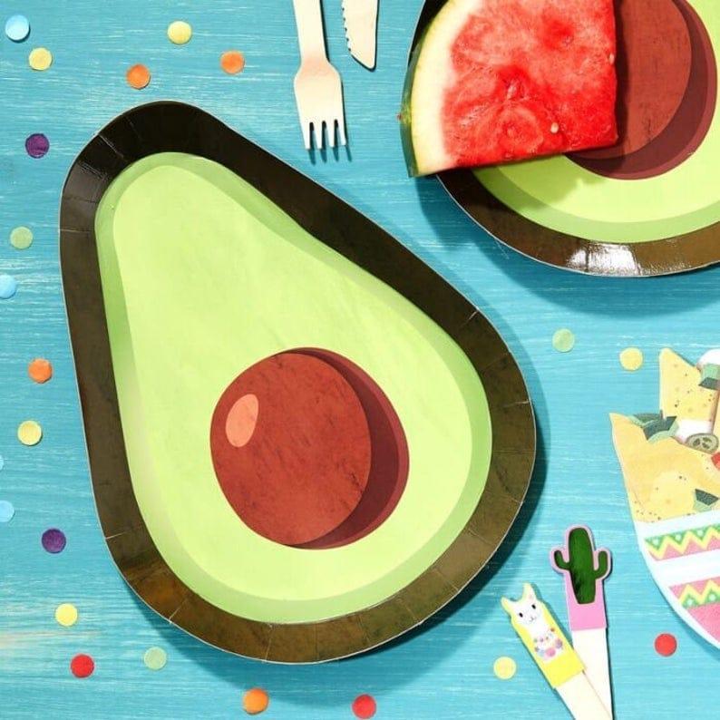 Avocado Fiesta Lunch Plates