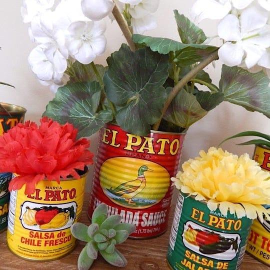 El Pato Mexican Cans