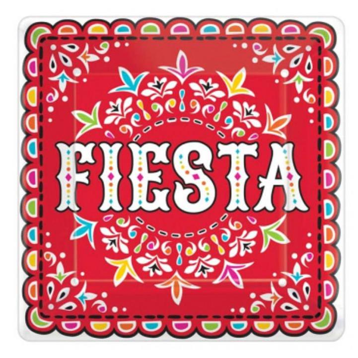 Extra Large Paper Fiesta Serving Plates