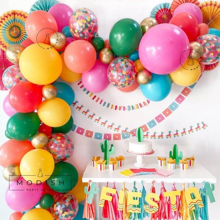 Fiesta Balloon Garland DIY Kit