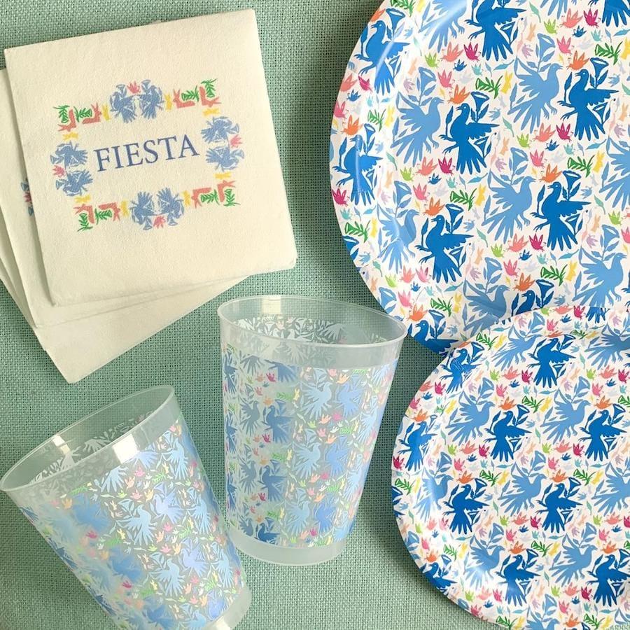 Fiesta Otomi Paper Plates