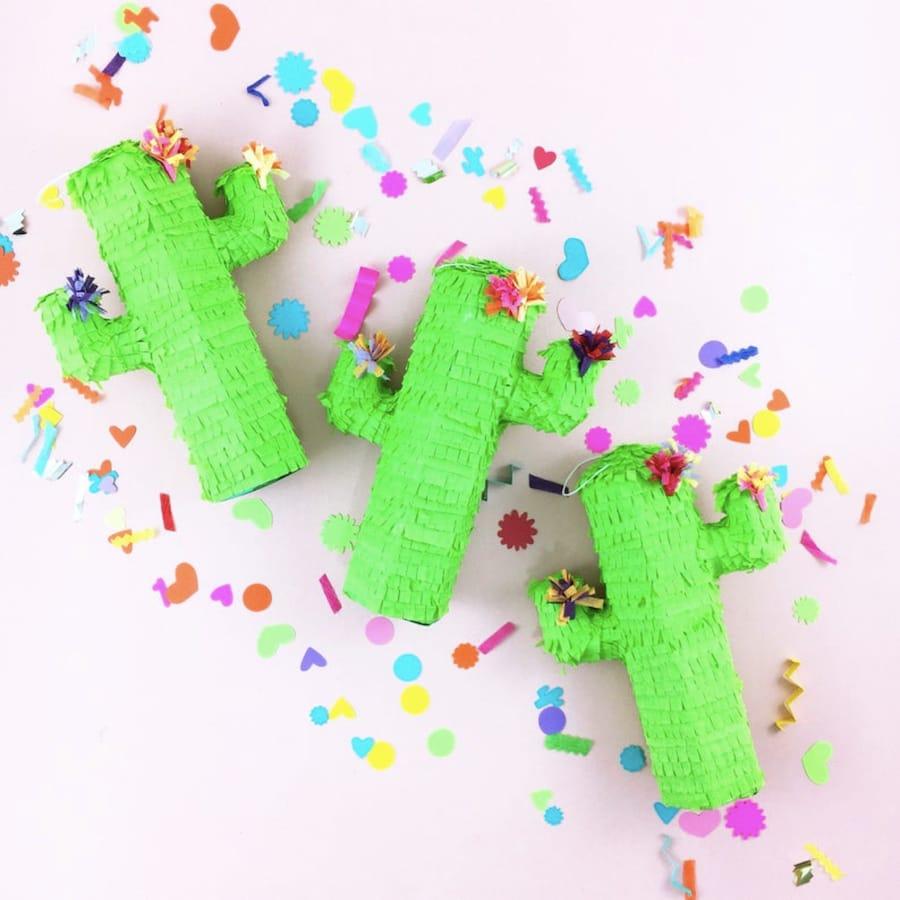 Mini Cactus Pinata Party Favors