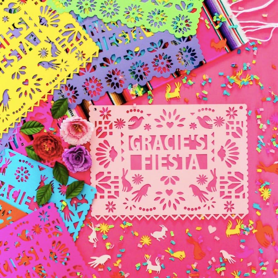 Otomi Design Papel Picado Fiesta Banner