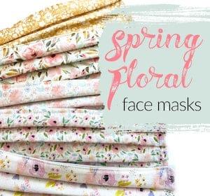 Spring Floral Face Masks