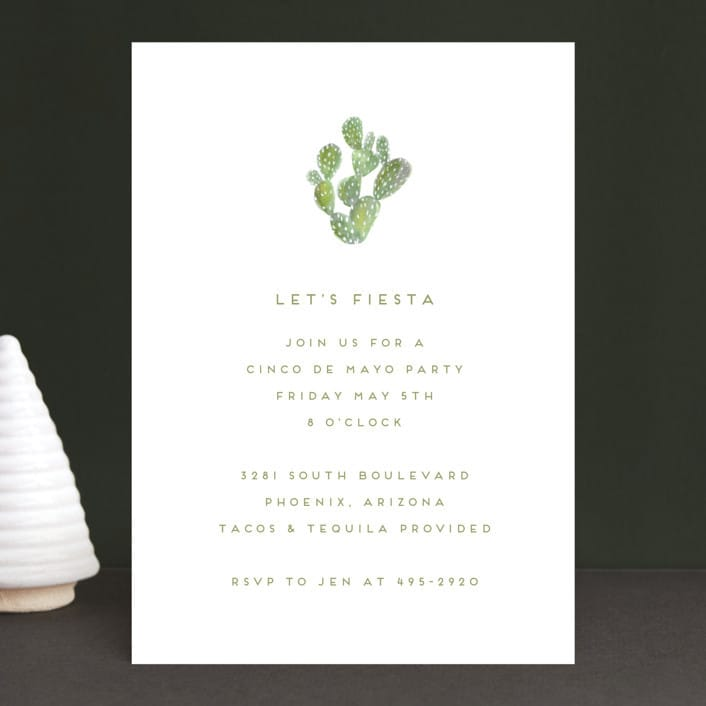 Tacos And Tequila Party Invitations