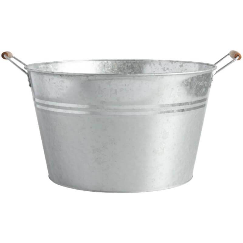 Galvanized Metal Party Tub