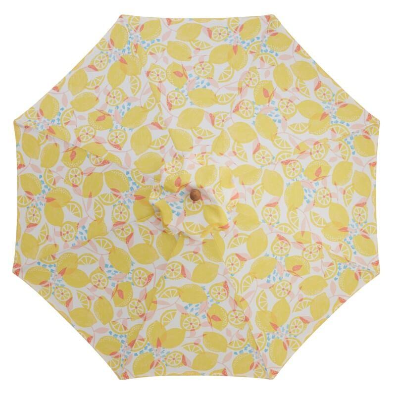 Lemon Citron Umbrella Canopy