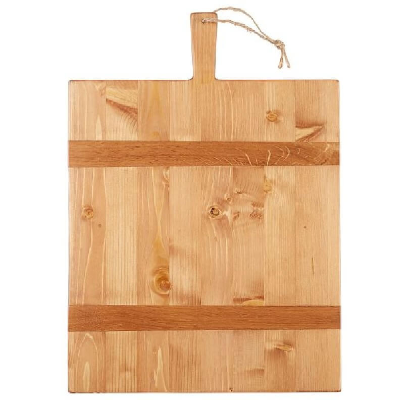 Reclaimed Pine Wood Rectangle Cheese