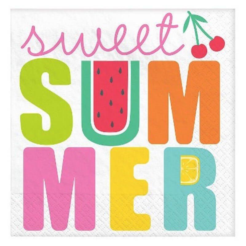 Sweet Summer Napkins