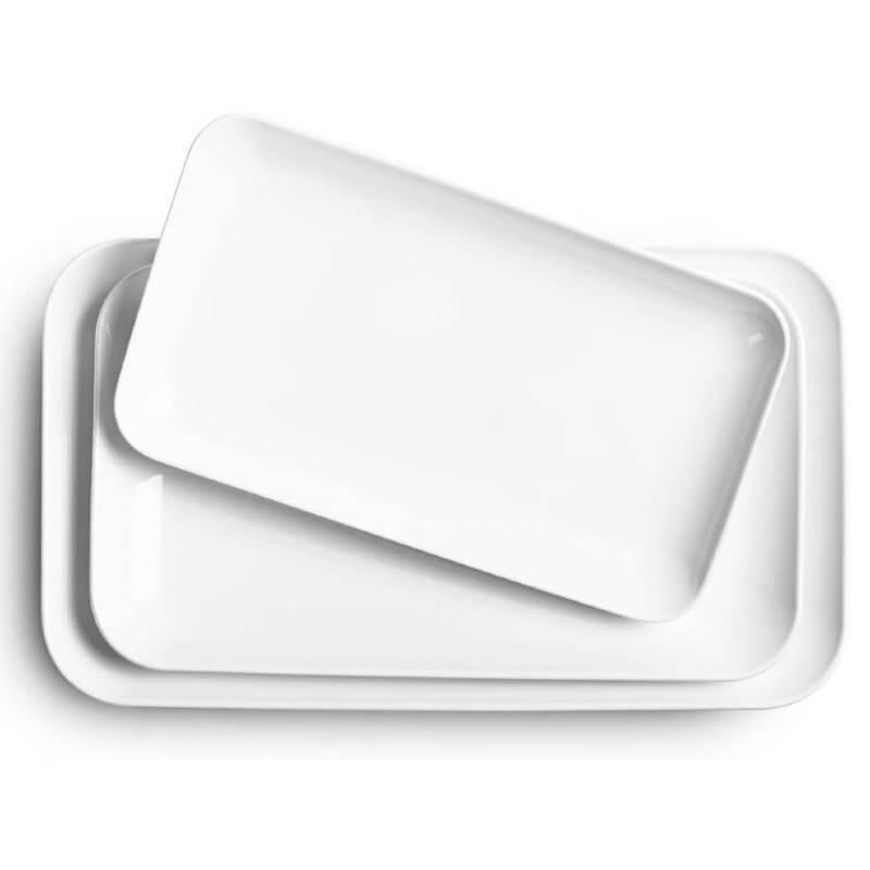 White Serving Platter 3 Set