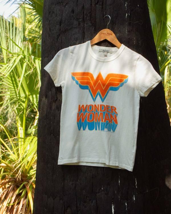 Wonder Woman Classic Original Logo Tee