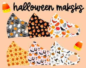 Kids Halloween Face Masks